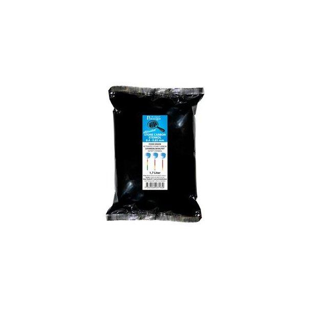 Aktivt kul (stenkul) 0,42 - 0,85 mm, 1,7 liter