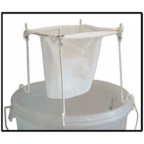 Filterpose af nylon inkl. stativ