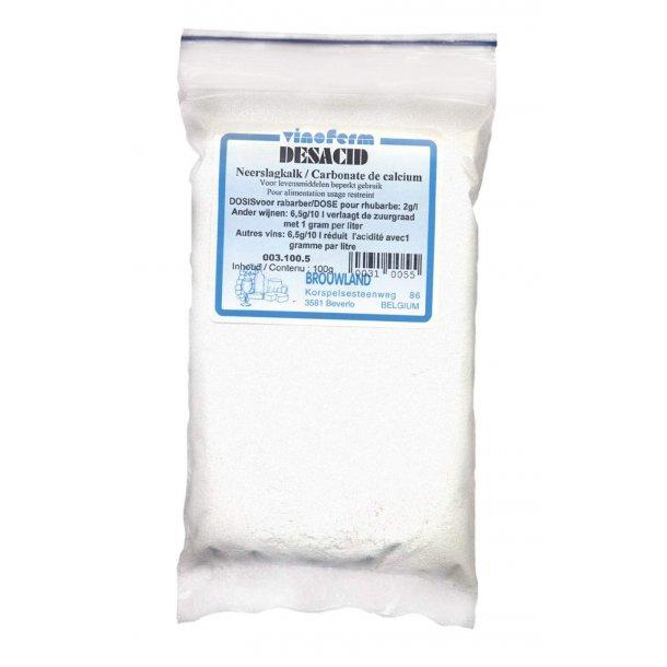 Calciumcarbonat (renset kalk) 100 gram