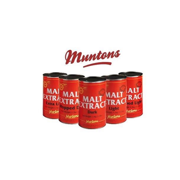 Muntons Lys Maltekstrakt 1,5 kg.
