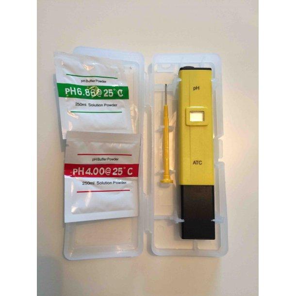 Elektronisk pH måler