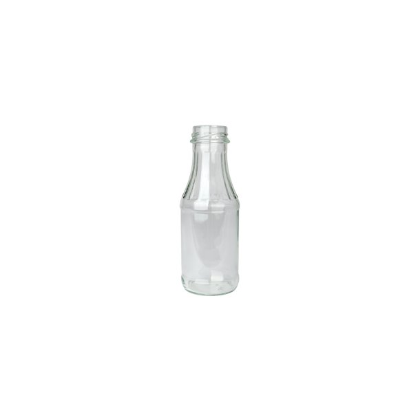 Juice/saftflaske, 24 cl. - UDEN låg.