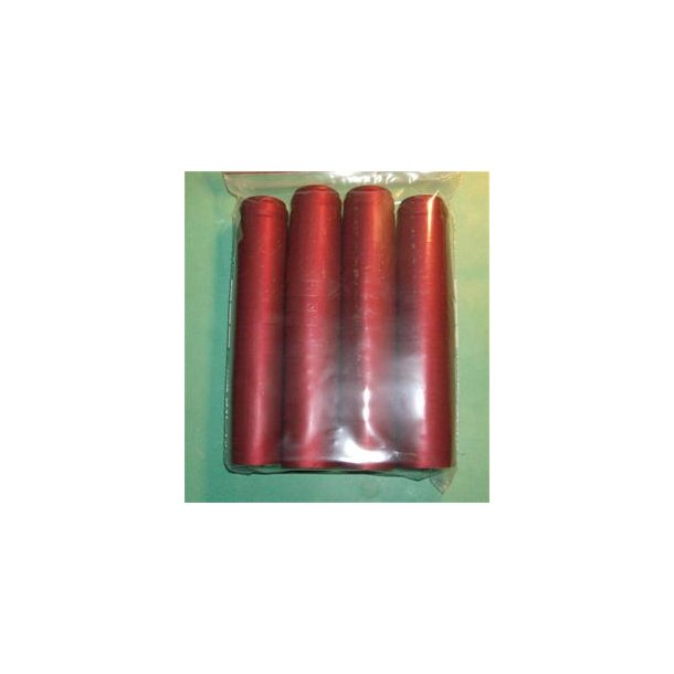 Krympekapsler, røde, 50 stk.